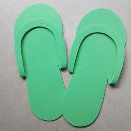 ccb32fa6341a BEST price EVA Slipper Foam Salon Spa hotel Slipper Disposable Pedicure  thong Slippers Disposable slippers Beauty Slipper XZ195