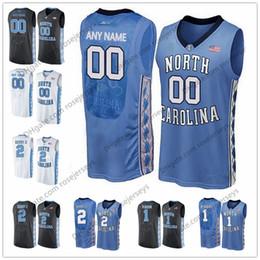 bf9db27e7 Custom North Carolina Tar Heels College Basketball blue black white  Stitched Any Name Number  13 Cameron Johnson Nassir Little UNC 2 Jerseys