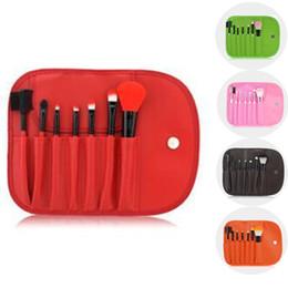 Best eye shadow kits online shopping - Best Quality Make Up Brushes Set Kits Eyelash Blush Eye shadow Brush Sponge Sumudger Makeup Tools With PU Bag CS00730