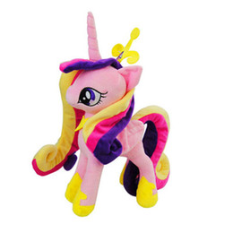 $enCountryForm.capitalKeyWord UK - My Pet Little Doll New Cotton Plush Toy Action Figures Flurry Heart Shining Armor Princess Cadance