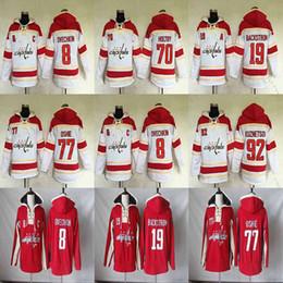 8 Alex Ovechkin 19 Nicklas Backstrom 70 Braden Holtby 77 T.J. Oshie Washington  Capitals Hockey Hoodies Jerseys Sweatshirts 865c4ced7a45
