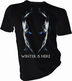 $enCountryForm.capitalKeyWord UK - Winter is Here Night King, Game of Thrones Adult & Kids T-Shirt Summer Short Sleeves Cotton T-Shirt top tee Interesting Pictures