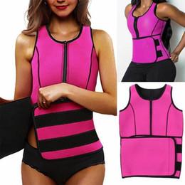 ef7d9db2696 NEW Women Neoprene Sauna Vest Body Shaper Slimming Waist Trainer Fashion  Workout Shapewear Adjustable Sweat Belt Corset