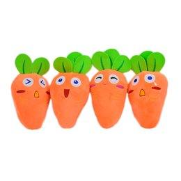 1pc 20cm Novelty Cartoon Carrot Plush Toy Doll High Quality Soft Simulation Vegetable Children Birthday Gift Random Delivery