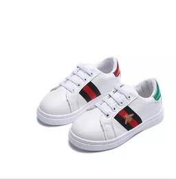 fe0cc8c6 T666 superventas nueva primavera verano otoño nueva moda pequeños zapatos  blancos deportes niño moda niños s zapatos 26-36cm