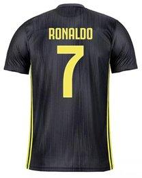 China juventus Kids Women Men 2018 Soccer Jerseys messi ronaldo Custom Full Kit tracksuit Uniforms Football Shirt psg juventus Champions League suppliers