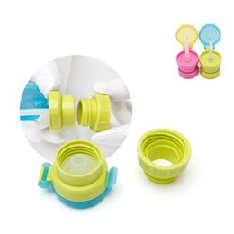 Chinese  Child Tubularis Bottled Cover Cap Safe Drink Straw Portable Spill Proof Juice Soda Kids Infant Water Bottle Straw Sippy Caps 4sk bb manufacturers