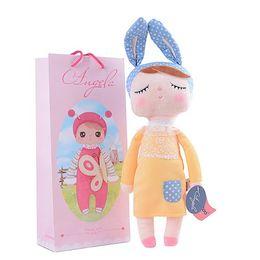 $enCountryForm.capitalKeyWord Australia - Wholesale-13 Inch Plush Stuffed Animal Cartoon Kids Toys for Girls Children Baby Birthday Christmas Gift Kawaii Angela Rabbit Metoo Doll