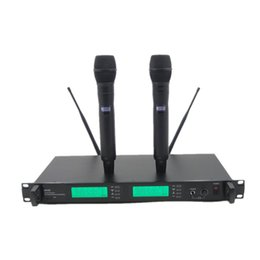 $enCountryForm.capitalKeyWord UK - Professional UR24D PLL True Diversity UHF Wireless System With Dual Handheld Wireless Microphone Stage Karaoke