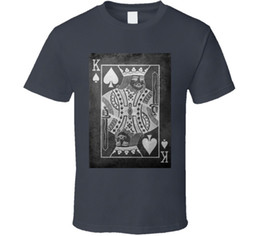 $enCountryForm.capitalKeyWord NZ - King of Spades poker cards Vegas club college t shirt Style Round Style tshirt