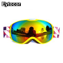 $enCountryForm.capitalKeyWord Australia - EYTOCOR Professional Double Spherical Lens Girls Boys Snowboard Skiing Glasses Kids Winter Snow Child Eyewear Kids Ski Goggles