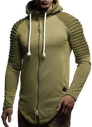 $enCountryForm.capitalKeyWord Canada - New Autumn Winter Men's polo Hoodies and Sweatshirts Slim Lrregular Hem Jacket Casual Zipper Hooded sport Jackets men's hoodies
