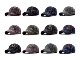 9fd5735c598 New Washed Retro Cap Fashion Cotton Baseball Cap High Quality Embroidery  Letter Trucker Hat Street Trendy Snapback Hat Curved Brim Sport Hat