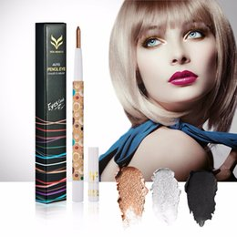 $enCountryForm.capitalKeyWord UK - Eye Makeup Waterproof Eyeshadow Pencil Cosmetic Glitter Eye Shadow Pen Make Up Shimmer Pencils 10 Colors