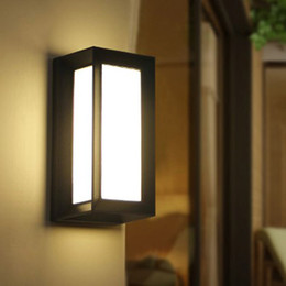 Modern House Lights Online Shopping   Modern Outdoor LED Wall Lamps Bulb  IP54 Waterproof Exterior Porch