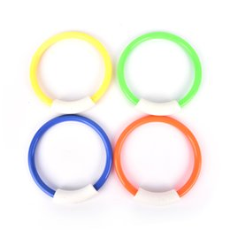 $enCountryForm.capitalKeyWord NZ - New 4Pcs Summer Dive Rings Swimming Pool Diving Game Kid Underwater Diving Ring Sport Buoys Four Loaded Throwing Toys
