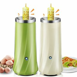 Discount machine sausages - Automatic Multifunctional Egg Roll Maker Electric Egg Boiler Egg Omelette Master Sausage Machine Europe Plug Breakfast T