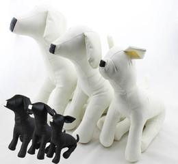 Mannequin Clothes Stand NZ - wholesale Cute New Pet Torsos Models PVC Leather Models Dog Mannequins Pet Clothing Stand S M L DMLS-001D
