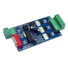 $enCountryForm.capitalKeyWord UK - Wholesale 3CH Easy dmx512 Controller,decoder,3 channel 1 group,2key 1A each channel max 15A,For LED strip light,module DC5V-24V
