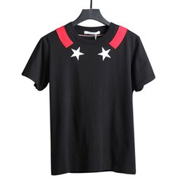 $enCountryForm.capitalKeyWord UK - 19ss the newest brands mens Embroidered white pentagram print t shirts star print cotton t shirt casual Designers tshirt tee tops