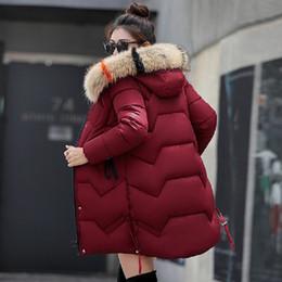 590895a7a1 New 2018 Top Quality Women Parkas Very Warm Wool Hats Women Winter Coat  Fake Fur Hooded Winter Jacket Women Thicken Down Jacket S18101501