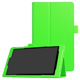 Discount tablet kindle hd - Leather Case for Amazon Kindle Fire HD 8 2017 Version Tablet Folding Flip Cover with Kickstand for Kindle Fire 8 inch 20