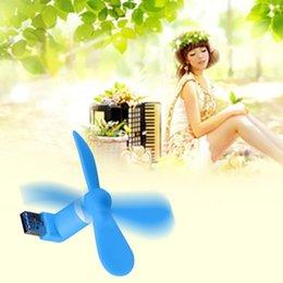 Chegada nova Portátil OTG Mini Micro USB Vento Grande Ventilador De Refrigeração Para Telefone Desktop Laptop Flexível Telefones Móveis Telefone Fan