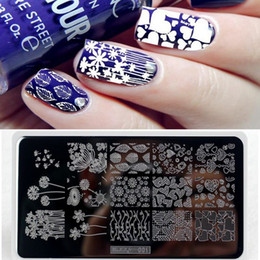 $enCountryForm.capitalKeyWord NZ - #ZJOY001 Nail Stamping Plates Nail Art Template Printing Tool Dandelion Flowers Leaf Love Design Stamp Image Transfer Manicure