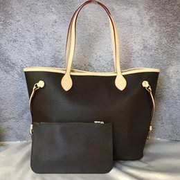 $enCountryForm.capitalKeyWord Canada - Women Shoulder Bag with a clutch Wallet 40996 Genuine Leather Shopping Tote Full Colors Interior 40995 Good Price