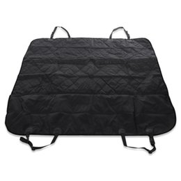 Universal Pet Car Seat Cover Anti Slip Foldable Cat Carrier Bag Mats Black Hammock Cushion High Quality