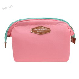 ffa8d5ce6f37 Fashion Women Cute Candy Colors Women Make-up Storage Cosmetic Bags Girls  Lady Zipper Sweet Clutch Handbag Purses