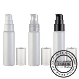 Powder PumPs online shopping - Hot sale ml White flat shoulder beak bottle powder pump beak bottle travel sub bottling cream lotion bottle