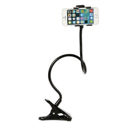 cell phone camera stand 2019 - Selfie Monopod Tripod Cradle Stand Clip Flexible Mobile Cell Phone Camera Holder cheap cell phone camera stand