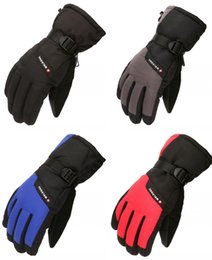 $enCountryForm.capitalKeyWord Australia - Winter Outdoor Gloves Skiing Snowboarding Shoveling Gloves Waterproof Windproof Snow Ski Gloves For Men Women with Wrist Leashes H905R