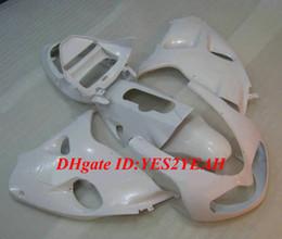 Venta al por mayor de Kit de carenado del molde de inyección para SUZUKI TL1000 98 99 00 01 03 TL1000R 1998 2003 ABS Todo el conjunto de carenados blancos + Regalos SQ05