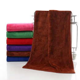 $enCountryForm.capitalKeyWord NZ - High Quality Bath Towel Microfiber Soft Thicker Towels Super Absorbent Hair towels Care Wash Beauty Supplies Car Cleaning towel