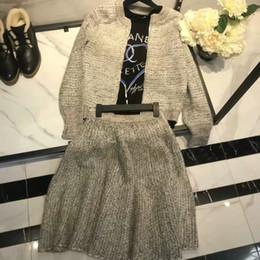 Discount mini skirt patterns - Women Dress 2018 Spring Clothes New Pattern  Gray Suit Zipper Long 462341816