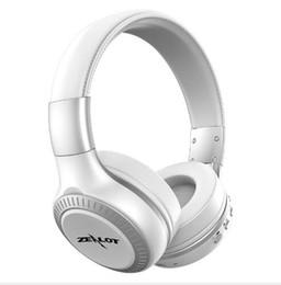 $enCountryForm.capitalKeyWord UK - LCD Display HiFi bass Wireless Bluetooth Headphone for iPhone 7 samung smartphone ZEALOT B19 earphone With FM Radio Micro-SD Slot