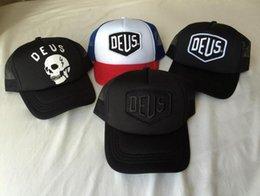 Deus Ex Machina Baylands Trucker Snapback Caps Black Mesh Baseball Hat  Sport Palace Drake 6 God Pray Ovo October Cap bone gorras 43f407dffd28