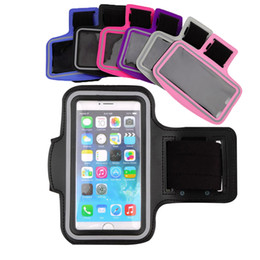 Wholesale Water Resistant Cell Phone Armband case Sports Running Gym Case Waterproof Armband Holder Pounch For samsung s7 edge s8 plus