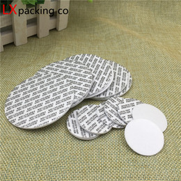 Bottle Seal Sticker NZ - 500 pcs Free Shipping Sealing Sticker for Plastic Glass Bottle Sealing Self-adhesive to Prevent Leakage Of Cosmetic Container