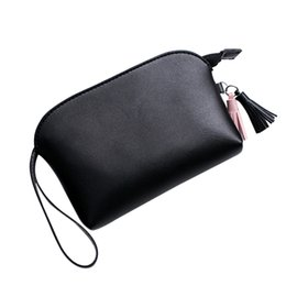 Phone Types Australia - Women's Handbags Fashion Women Tassels Lichee Pattern Shell Type Handbag Coin Phone Leather cosmetic Bag Drop Shipping Girls A8