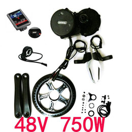 motor bicycles Australia - Bafang 8fun Mid Drive Central Motor, 48V 750W BBS02B Latest Controller Crank Motor ,Eletric Bicycles Conversion Ebike Kits