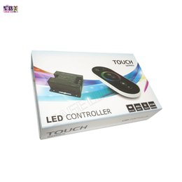 Wireless Touch Rgb Controller Australia - free shipping DC12-24V 18A RF Remote Wireless Touch Pad Panel LED Controller Dimmer for 5050 3528 2835 RGB LED strip Light Tape