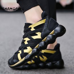 Discount new trend men fashion shoes - Hand-woven Mens Shoes Trend 2019 new arrival Shoes For Men Fashion Sneakers Male Breathable Casual Shoes Men Red Bottom