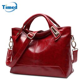 Black Leather Bags Women S Handbags Canada - New Women 'S Handbags Casual All Match Large Capacity Shoulder Bag Solid Lady High Quality Genuine Leather Pu Casual Totes