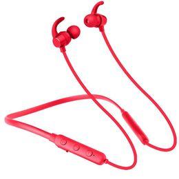 $enCountryForm.capitalKeyWord Australia - Waterproof Handsfree Bluetooth Headset Wireless Stereo Earphone With Mic Ultralight Headphone Earloop Earbuds For iOS iPhone Andorid Phone