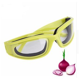 safety gadgets Canada - Onion Goggles Eye Cutting Protector Onion And BBQ Safety To Avoid Tears Protect Eyes Cut Onion Glasses Tools Kitchen Gadgets