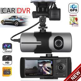 $enCountryForm.capitalKeyWord NZ - Dual Lens GPS Camera HD Car DVR Dash Cam Video Recorder G-Sensor Night Vision Free Shipping