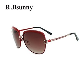 $enCountryForm.capitalKeyWord NZ - R.Bsunny R7691 Big frame women polarized sunglasses Fashion classic retro HD sun glasses Casual shopping driving UV400 goggles D